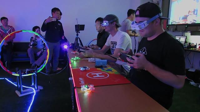 Serunya Balapan Micro Drone Yang Akan Bomming 2017