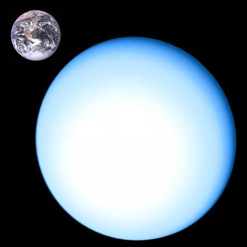 Так выглядит  Уран