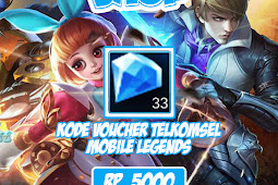Voucher Telkomsel Mobile Legends