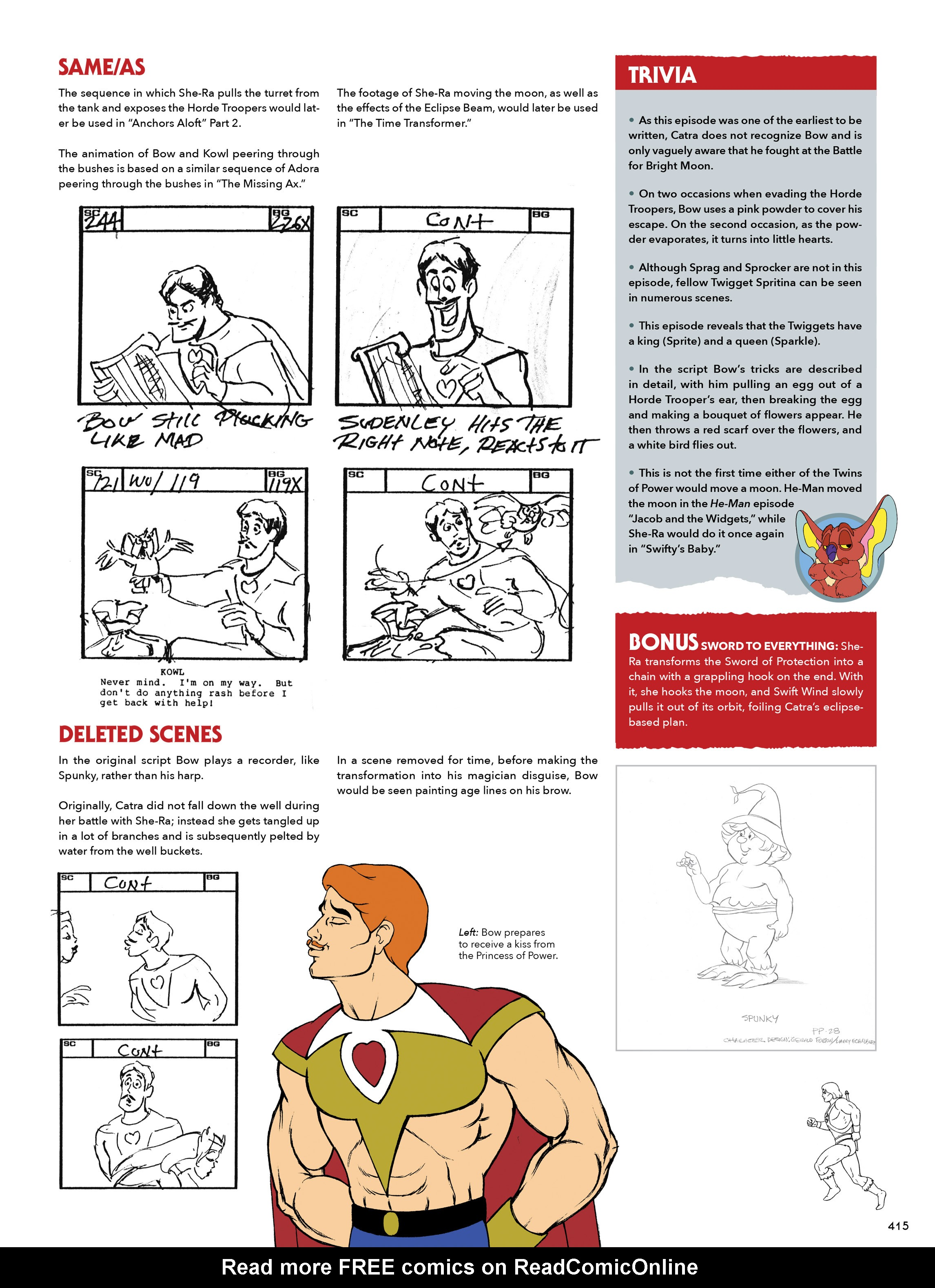 Read online He-Man and She-Ra: A Complete Guide to the Classic Animated Adventures comic -  Issue # TPB (Part 3) - 16