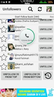 Cara Unfollow Instagram tidak Follback dengan Cepat Secara Masal