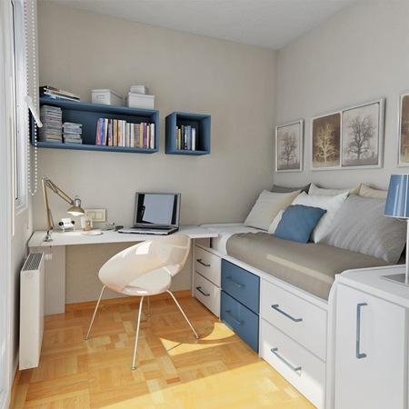 Camas con cajones que ahorran espacio drawer bed by - Ideas camas para espacios reducidos ...