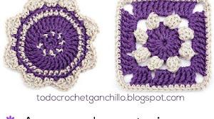 Aprende a tejer 2 motivos crochet para renovarte / Paso a paso