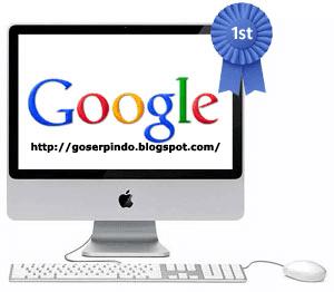 Cara Menampilkan Web Blog Di Urutan Pertama Menjadi No 1 Di Mesin Pencarian Google
