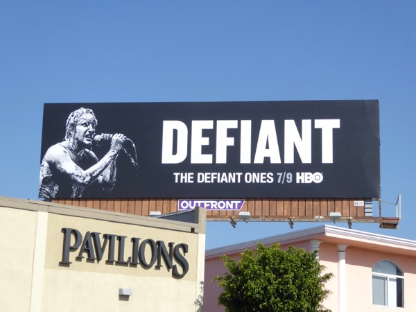 Defiant Nine Inch Nails billboard