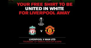 Jelang Liverpool vs MU: Fans United Diimbau Kenakan Jersey Tandang di Anfield