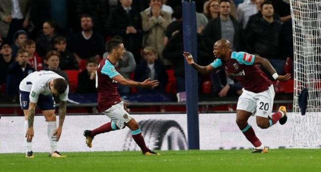 cuplikan gol tottenham hotspur vs west ham 2-3