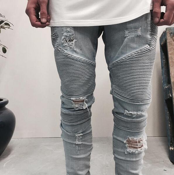 Look Masculino com Calça Biker Jeans