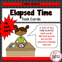Time Elapse Task Cards
