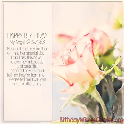 Top 50 Happy Birthday In Heaven Wishes Quotes Messages – Happy Birthday Mom Greetings