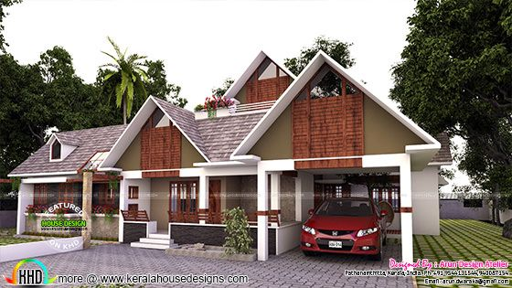 Stunning modern single floor home 260 sq-ft
