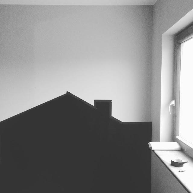 tablicowy domek w pokoju dziecka jak zrobić