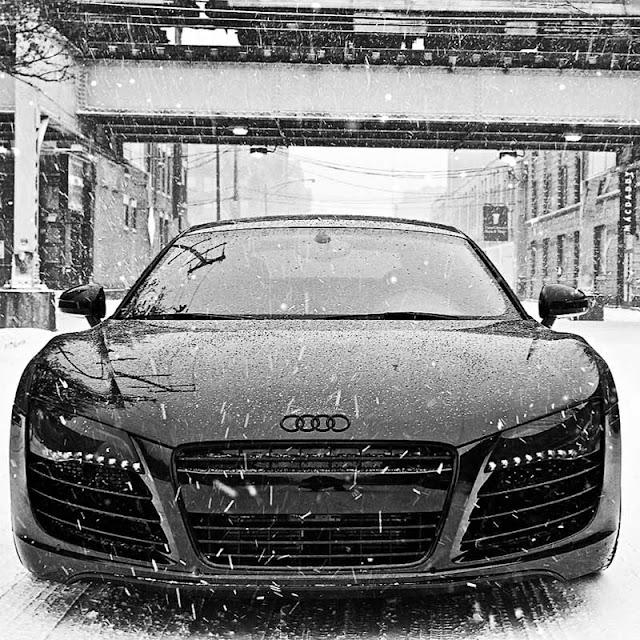 Snow Audi R8 Wallpaper Engine