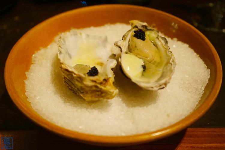 Le Chameau Bleu - Huitre du Volta - Gent - Gastronomie - Belgique