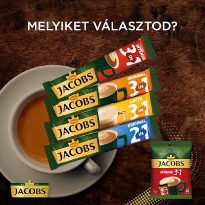 Jacobs Intense Nyereményjáték
