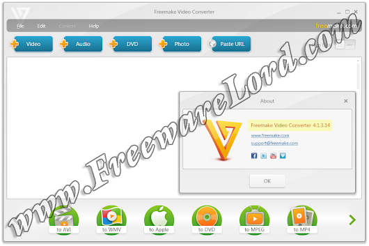Lord of FreewaresLord of Freewares: Download Latest Freemake Video Converter 4.1.3 Standalone Offline Installer