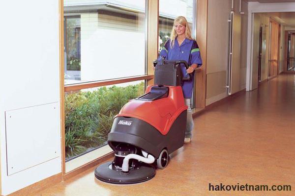 Máy đánh bóng sàn Hako Cleansev PB51