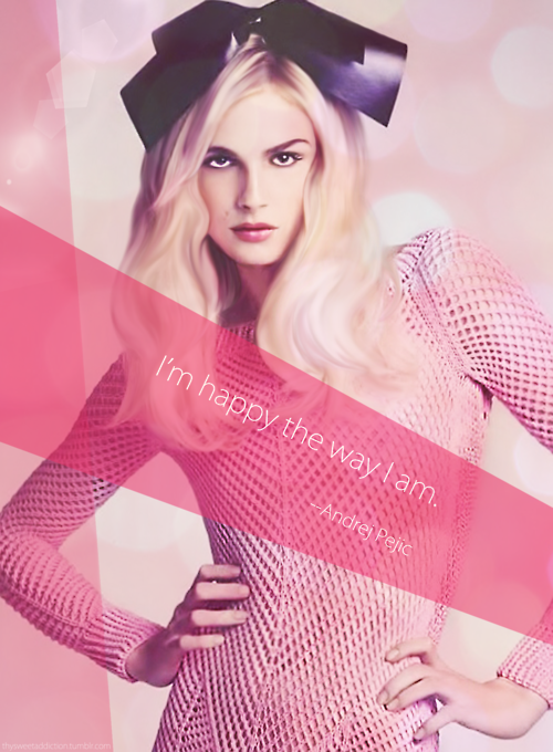 Pictures of Andrej Pejic