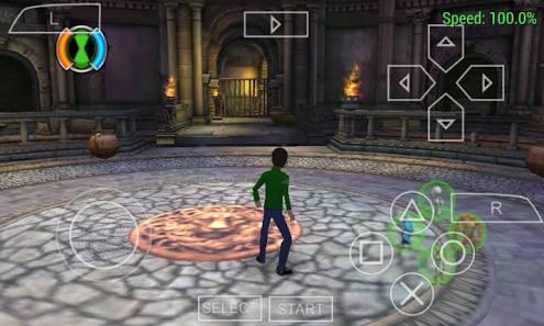 Download Ben 10 Ultimate Alien: Cosmic Destruction PSP PPSSPP