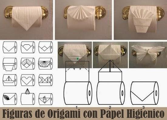 papel higiénico para decorar en fiestas
