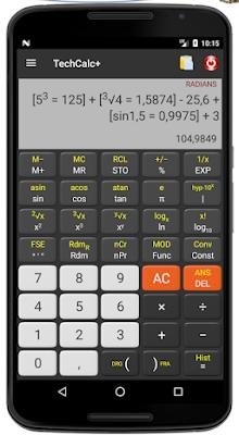 الالة الحاسبة العلمية المبرمجة, تحميل الة حاسبة علمية للهاتف, الة حاسبة مبرمجة للأندرويد, آلة حاسبة كاسيو للأندرويد