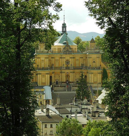 Bazylika. Sanktuarium Wambierzyckiej Królowej Rodzin Patronka Ziemi Kłodzkiej.