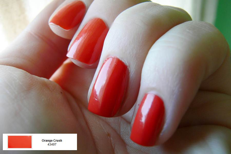 Avon Gel Finish Orange Crush porównanie
