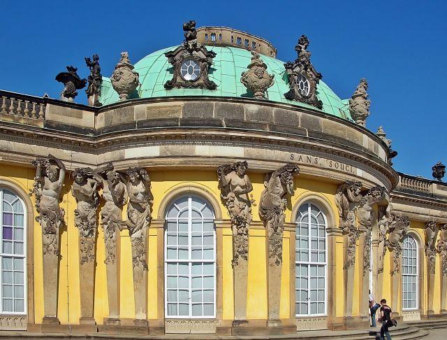 Niemcy, atrakcje, pałac, Poczdam