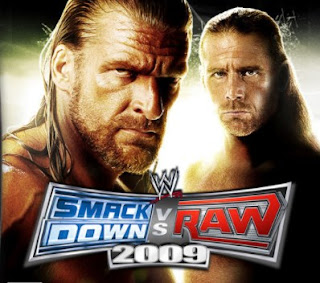 WWE SmackDown vs. Raw 2009 PPSSPP Cso Iso High Compressed