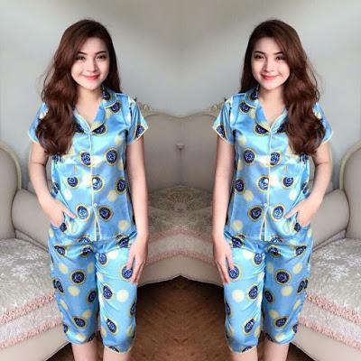 Sỉ lẻ đồ bộ ngủ pijama lửng giá rẻ mới nhất