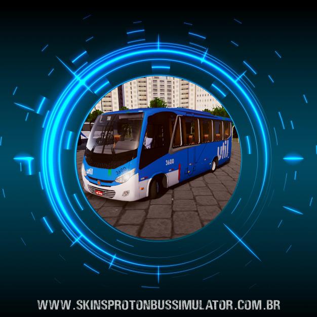 Skin Proton Bus Simulator - New Senior MB LO-916 BT5 Util