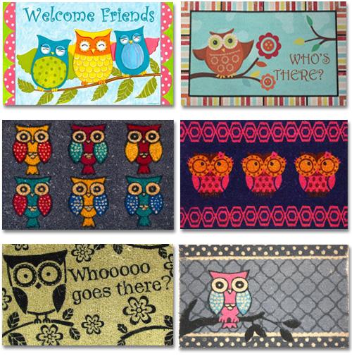 My Owl Barn Collection Owl Doormats