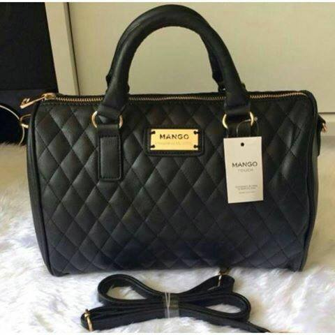 Mng Bowling Quilted Bag Price In Promotion Murah Gila Colors Black Beige Red Wine Brown Measurement 28 X 22 18 Cm Material Pu Leather