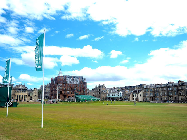 The Old golf course, St Andrews, Fife, Scotland