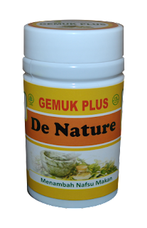 Obat Herbal Gemuk Plus De Nature Indonesia