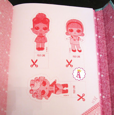Бумажные куклы Лол Сюрприз