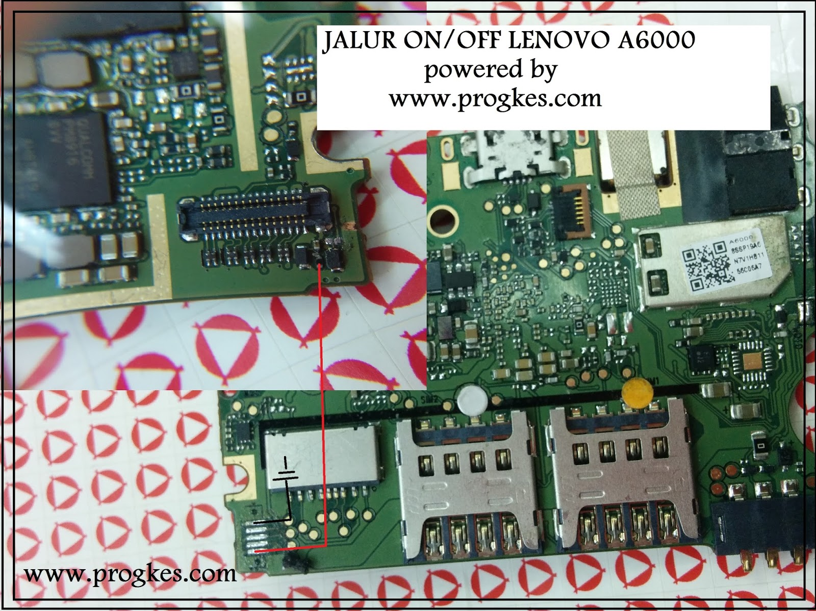 Media Care Indonesia  Jalur On  Off Lenovo A6000