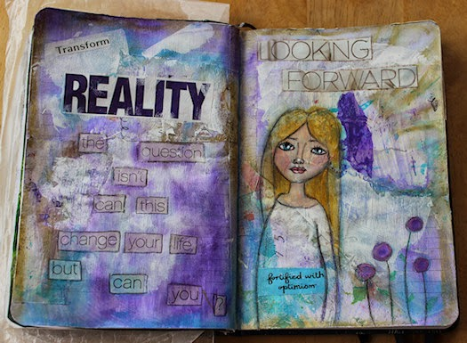 Can You Journal Page Spread by Tori Beveridge 2014