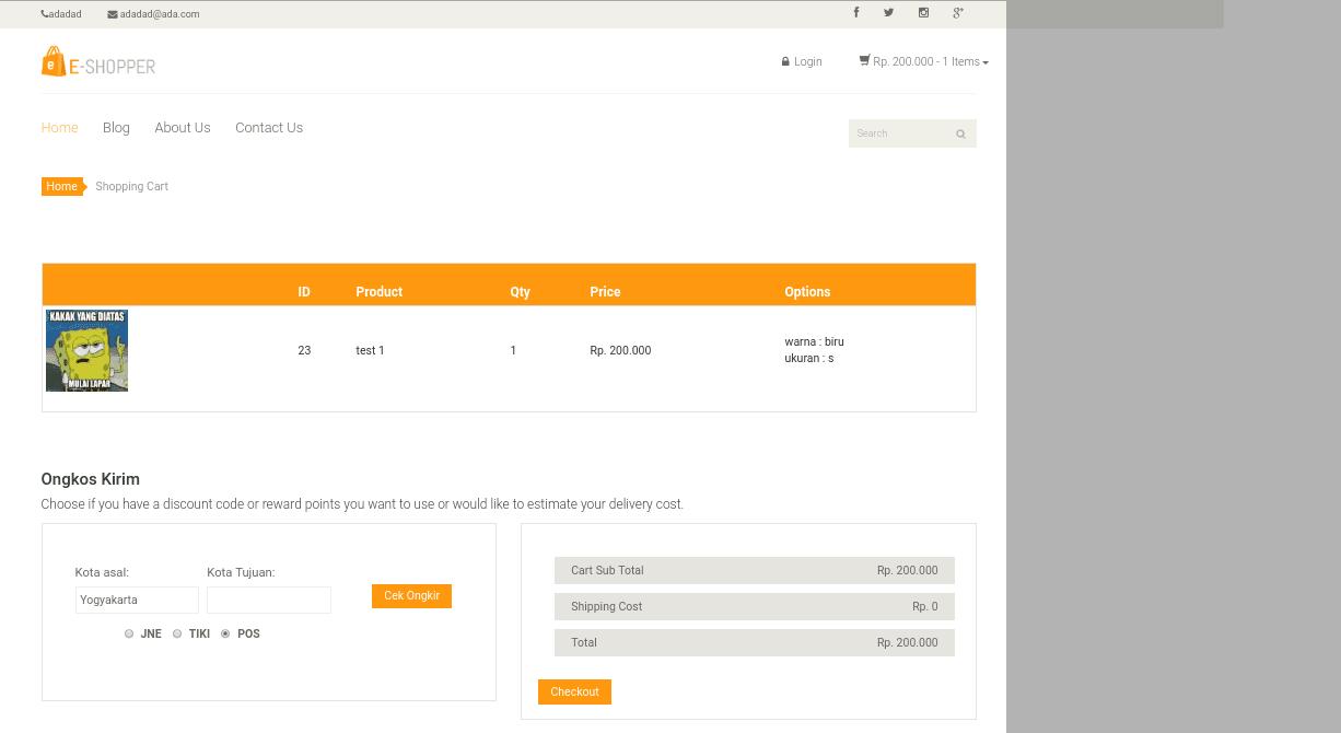 Source Code Toko Online Lara Shop Dengan Framework Laravel
