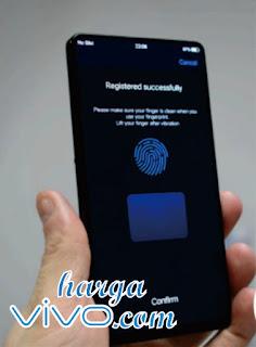 vivo apex dilengkapi dengan fingerprint