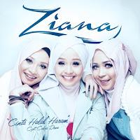 Lirik Lagu Ziana Cinta Halal Haram