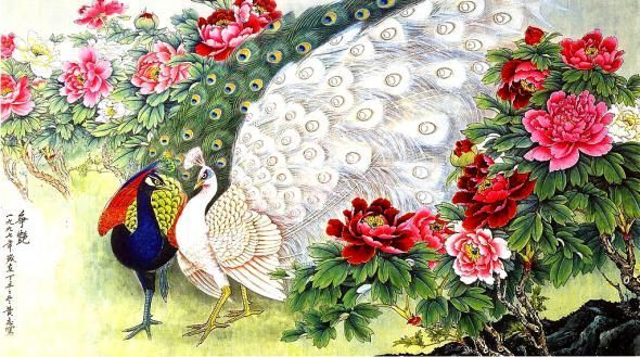 Check Out The Amazing Peacock Paintings Pictures Here In Good Quality Choose Your Favorite Picture From Collection And Use It For