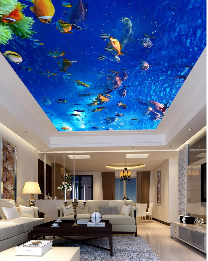 Dwell Of Decor: 20 Stunning Interior 3D Epoxy Ceiling Ideas