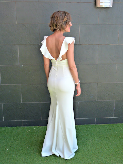 Fitness And Chicness-Top Queens Bridal White Maxidress-5