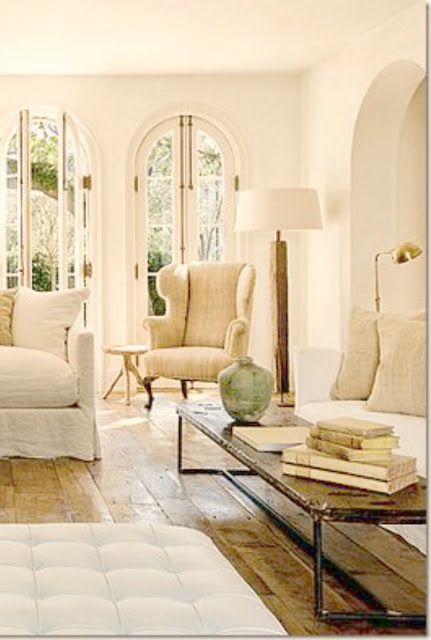 Pamela Pierce's gorgeous home with sophisticated French Country decor and European farmhouse charm on Hello Lovely Studio