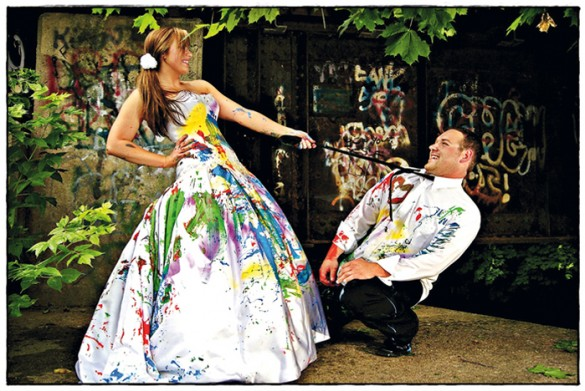 Carried Through The Sea Or You Both Cuddling In Mud Your Wedding Day Attire Just Be Creative With It And See What Ideas Can Come Up