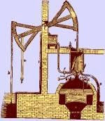 Ilustrasi mesin Thomas Newcomen sekitar tahun 1712