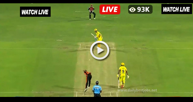 SRH vs CSK Live Streaming Cricket Scores