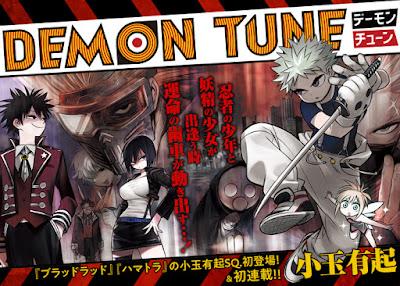 """""""Demon Tune"""" el nuevo manga de Yuuki Kodama"""