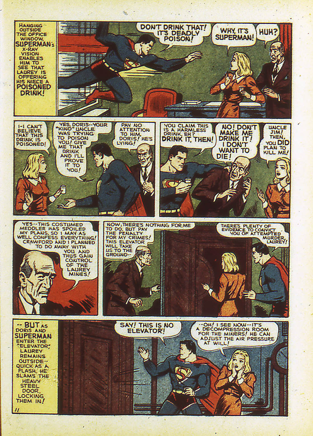 Read online Action Comics (1938) comic -  Issue #34 - 14